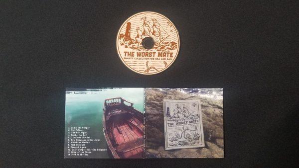 sea shanty collection CD album back