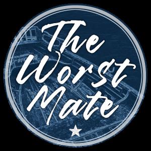 The Worst Mate sticker